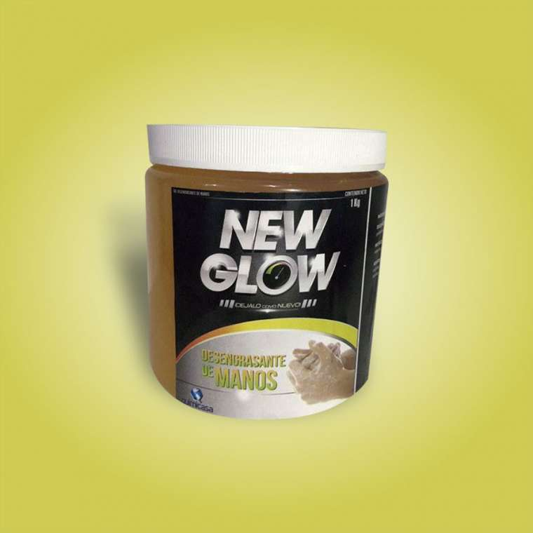 Desengrasante de Manos New Glow